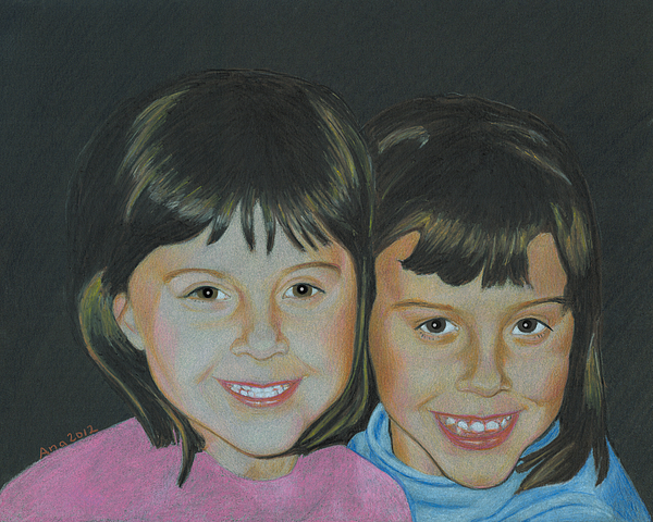 Sisters  by Ana Tirolese
